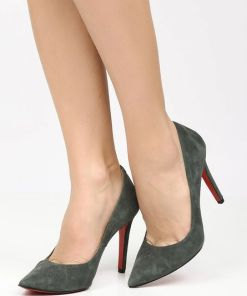 Pantofi stiletto Penza B Gri