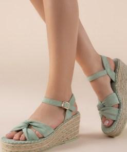 Sandale cu platforma Thaisa Verzi