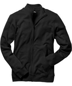 Jachetă casual - negru
