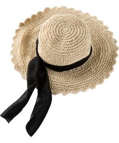 Pălărie de paie - bej