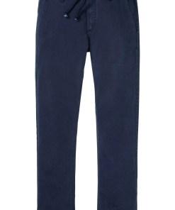 Pantaloni chino Regular Fit din bumbac organic, Straight - albastru