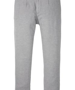 Pantaloni chino Regular Fit cu pense Straight - gri