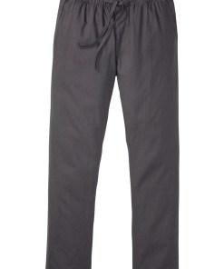 Pantaloni fără încheiere cu in în compoziție, Regular Fit, Straight - gri