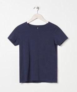 Sinsay - Tricou basic - Bleumarin
