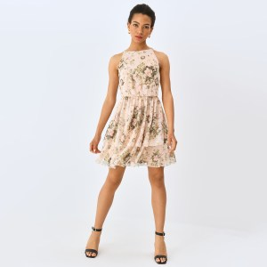 Mohito - Rochie cu model floral - Ivory