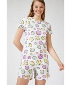 Pijama Dama Brooke Alb