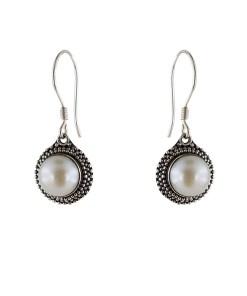 Cercei argint stylish shell