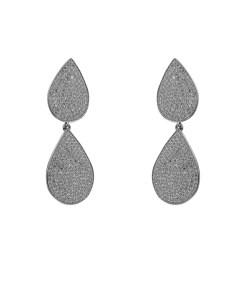 Cercei lungi eleganti din argint