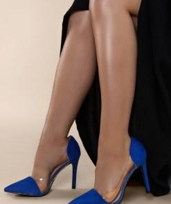 Pantofi stiletto Geraldine V1 Navy