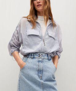 Mango - Fusta jeans Marion UPY8-SDD011_55X