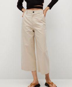 Mango - Pantaloni Leandra UPY8-SPD02C_12X