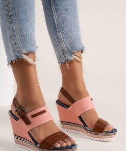 Sandale cu platforma Shadia Roz