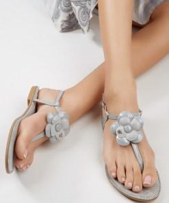 Sandale dama Orense Gri