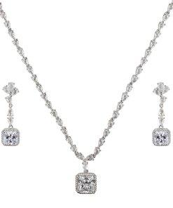 Set elegant din argint Magic Crystals
