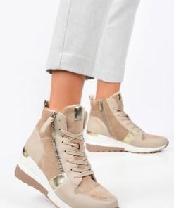 Sneakers High-Top Mavira Bej