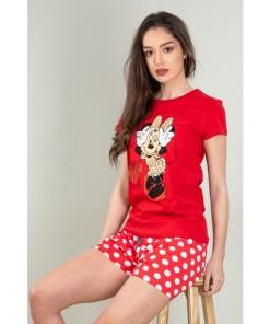 Pijama Dama Aleena Rosu