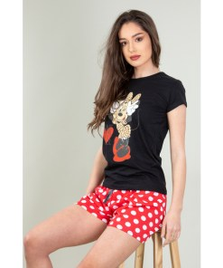 Pijama Dama Aleena Negru