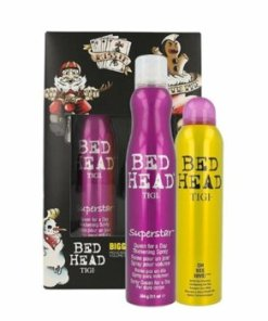 Set Bed Head Bigged Up (Spray pentru par Bed Head Superstar Queen for a Day 311ml + Sampon uscat Bed Head Oh Bee Hive 238ml), 549 ml