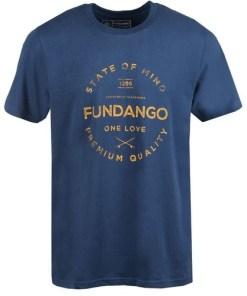 Tricou barbati Fundango Basic T Logo 2 1TY10102-482