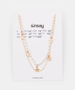 Sinsay - Colier - Auriu