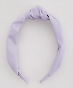 Reserved - Cordeluță cu nod decorativ - Violet