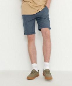 House - Pantaloni scurți cu talie elastică - Bleumarin
