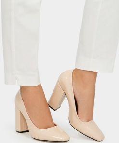 Pantofi cu toc Sticker V1 Bej