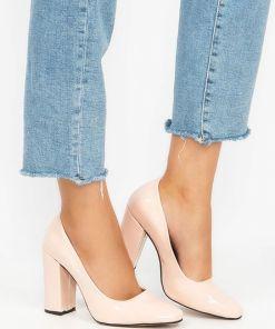 Pantofi cu toc Sticker V1 Roz