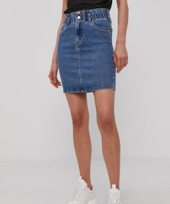 Vero Moda - Fusta jeans 99KK-SDD01A_55A