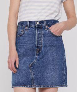 Levi's - Fusta jeans 9BY8-SDD05D_55X