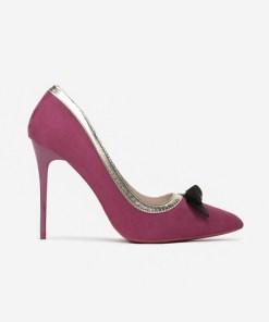 Pantofi cu toc Selinia Mov