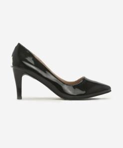 Pantofi cu toc Clesia V2 Negri