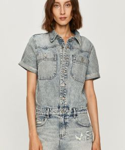 Miss Sixty - Salopeta jeans PPYK-SKD02L_55J