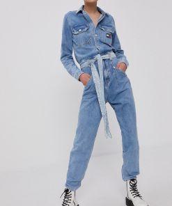 Tommy Jeans - Salopeta jeans PPY8-SUD106_50J