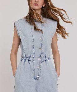 Answear Lab - Salopeta jeans BMY8-SKD008_55X