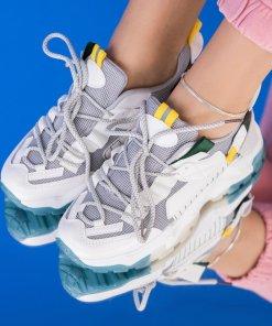 Adidasi Textil,Piele Ecologica Albi Sloane X2563