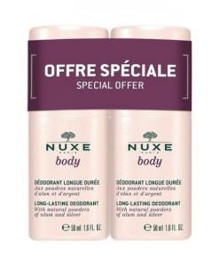 Deodorant Femei Body Nuxe Duo Pack 2x50ml