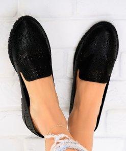 Pantofi dama Piele Naturala Negri Kaisley X4269