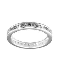 Inel aniversar / de logodna, Argint 925 Starlight Eternity