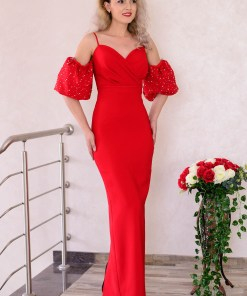 Rochie Deeply In Love Red