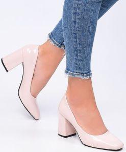 Pantofi cu toc Roads V2 Roz