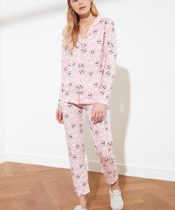 Pijama cu ursuleti panda 3452463