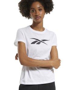 Tricou slim fit cu imprimeu logo - pentru fitness 3725069