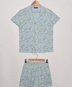 Pijama scurta cu inorogi 3829790