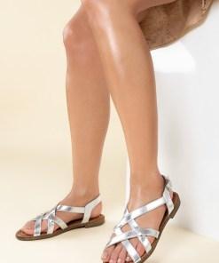 Sandale dama Talina Argintii