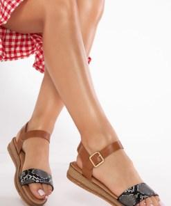 Sandale dama Dorothea Negre