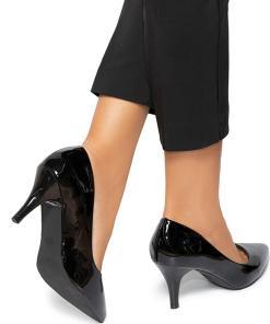 Pantofi dama Marietta, Negru