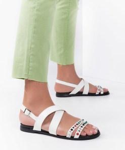 Sandale dama Salerno Albe