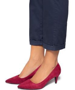 Pantofi dama Stormi, Visiniu