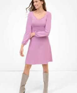 Rochie în cloș din tricot Violet